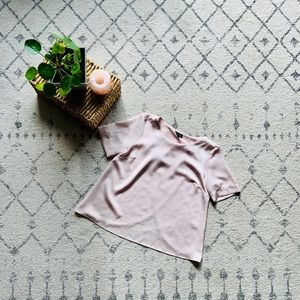 Stain pink Topshop Top